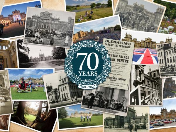 Celebrating 70 years of visitors at Blenheim Palace