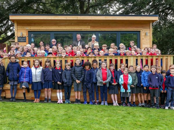 New Classroom Opened at Bladon Primary School