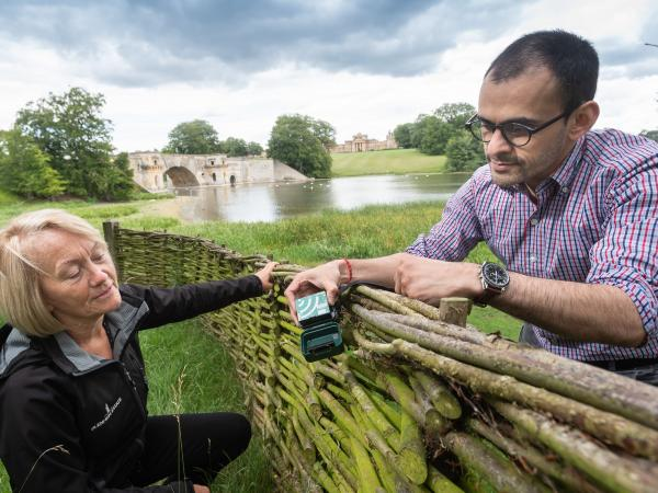 We're measuring our biodiversity as part of a nationwide wellbeing study