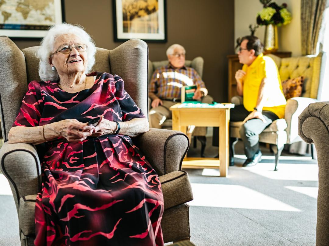 Barchester Care Home Residents