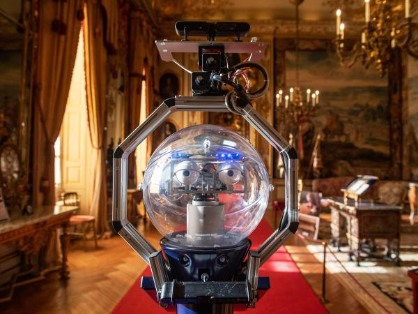 Robots put to the test at Blenheim Palace