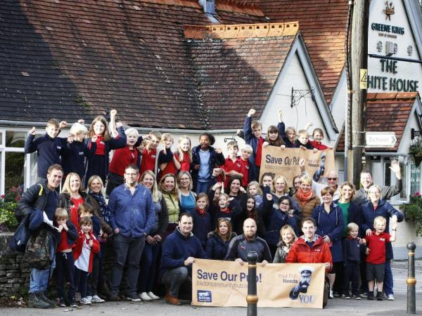 Churchill's White House is saved by Bladon Community