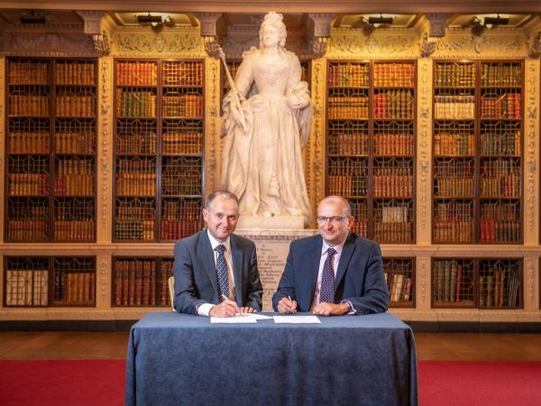 Blenheim to collaborate with University of Oxford