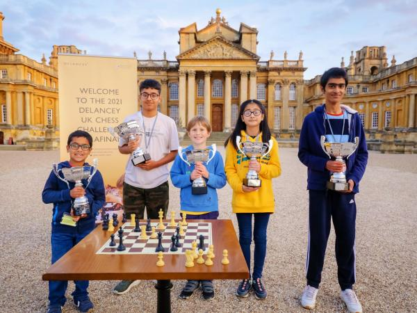Chess Champions Crowned at Palace