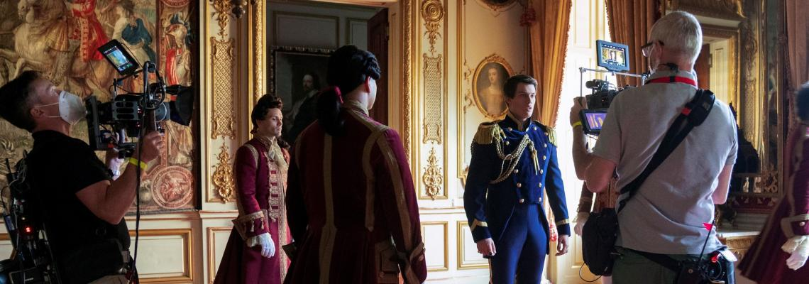 Picture Palace: Our Starring Role in new Cinderella Blockbuster