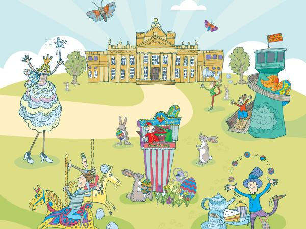 Easter at Blenheim Palace