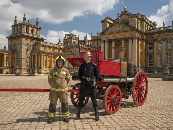 'Lost' Victorian Fire Engine Returns to Blenheim Palace