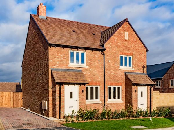 We've handed over the first keys for our new affordable homes