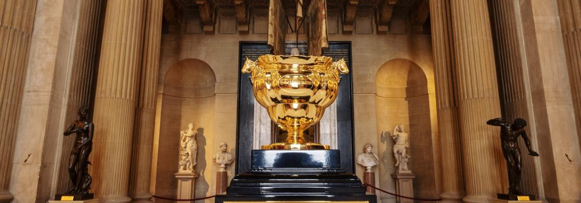 Iconic Cheltenham Gold Cup on Display at Blenheim Palace