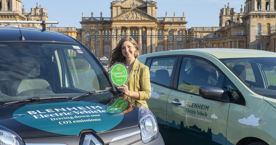 Blenheim leads the charge to drive down emissions...