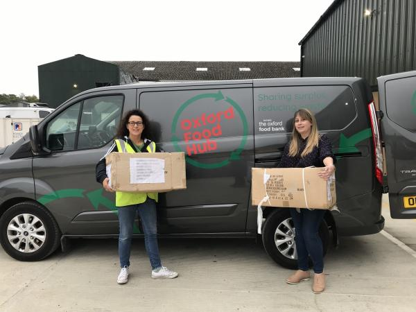 We've Donated 600 Thermal Lunchboxes to Oxford Food Hub