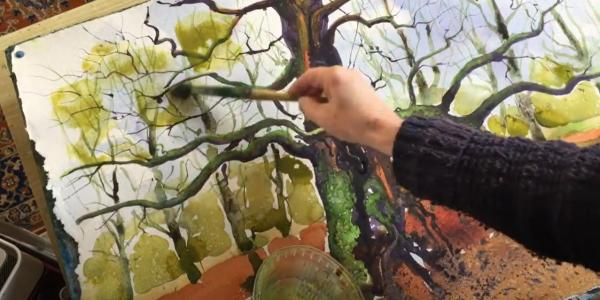 Painting the Oaks