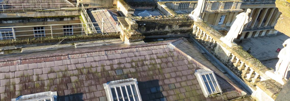 We've Carried Out Emergency Roof Repairs as Part of Government's Culture Recovery Fund