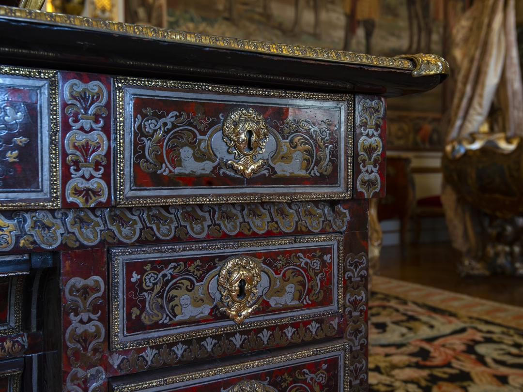 Boulle Marquetry writing table